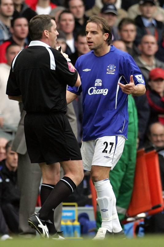 Van der Meyde in 2006 als speler van Everton