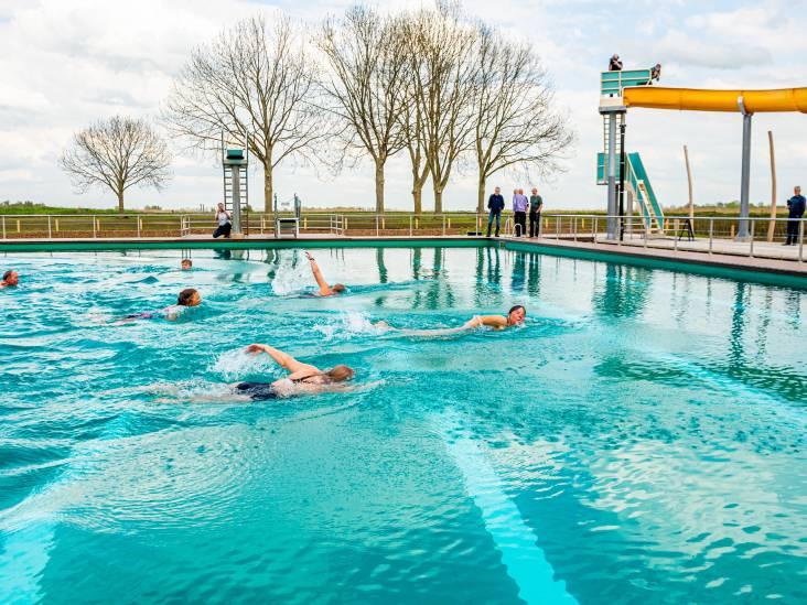 Gezuiverd zwembad De Loete nog niet op temperatuur: 'Natuur moet een handje helpen'
