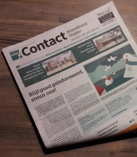'Steun noodzakelijk' om huis-aan-huisbladen overeind te houden