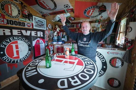 Betuwse Feyenoordfans: Theo van Bon