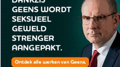 CD&V haalt campagne Koen Geens over strengere straffen voor seksueel geweld offline