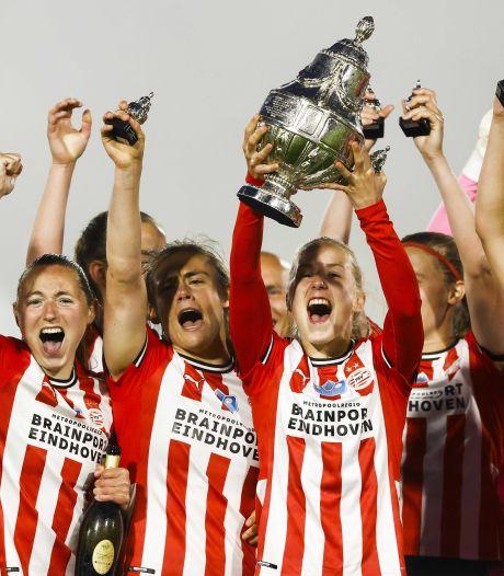 Vrouwen PSV pakken met bekerwinst eerste prijs in de geschiedenis