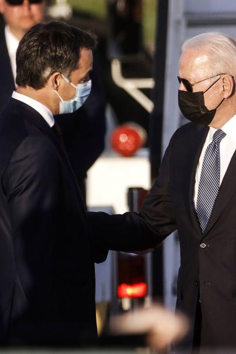 Joe Biden est arrivé en Belgique: les premières images