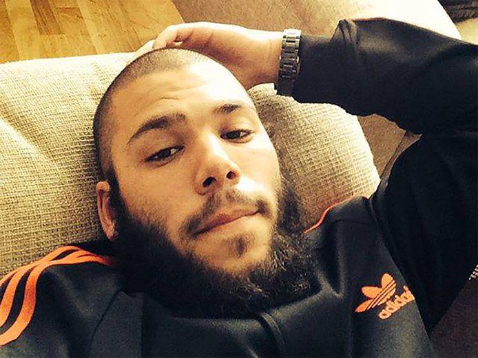 Osama Krayem voor zijn vertrek naar Syrië.