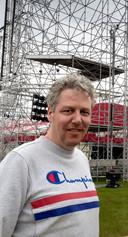 Peter Sanders, directeur van Paaspop.