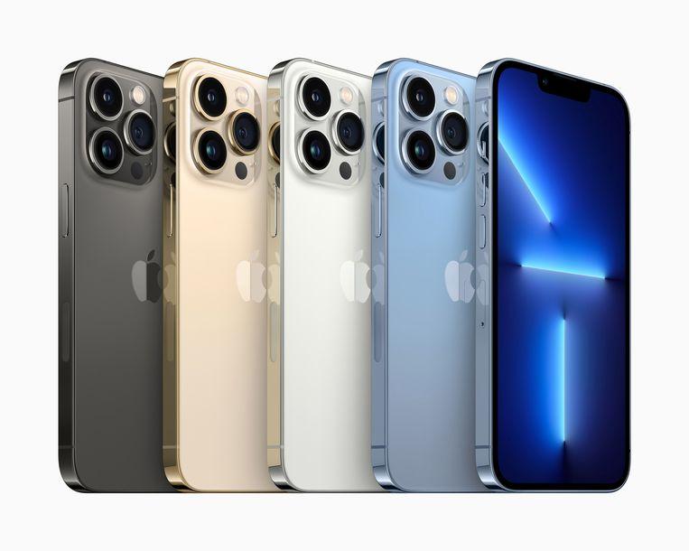 De nieuwe Apple iPhone 13 Pro and iPhone 13 Pro Max Beeld EPA