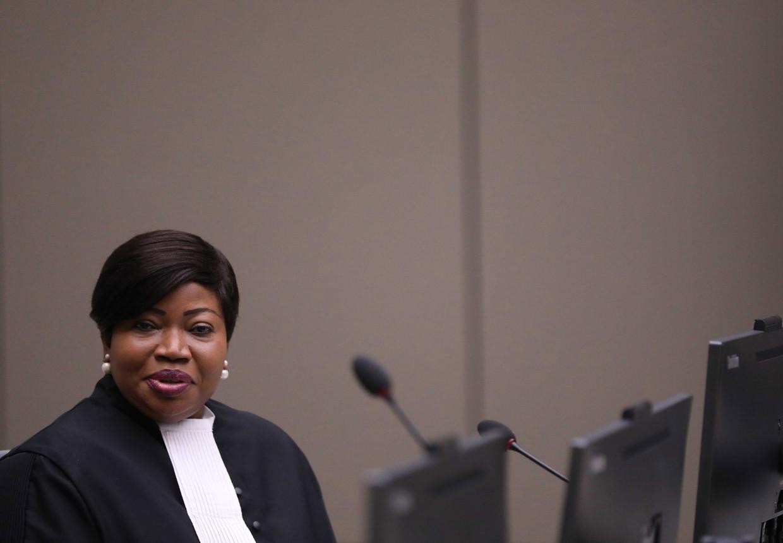 Openbaar aanklager Fatou Bensouda van het Internationaal Strafhof.