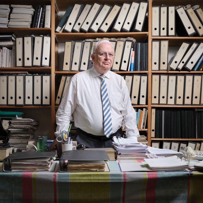 Cyrille Fijnaut, criminoloog en hoogleraar.