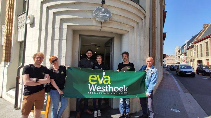 IJssalon en streekproducten L'Héritage ontving de vegan friendly-sticker.