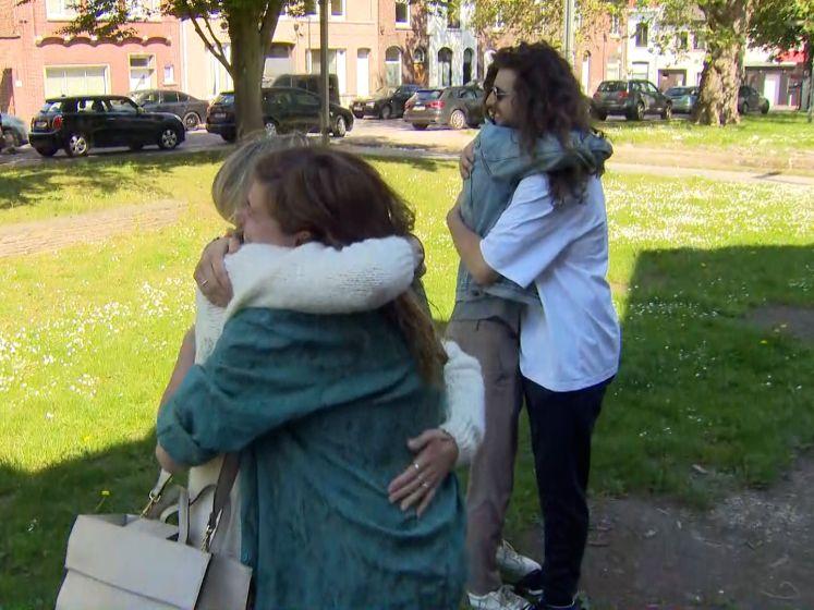 """Harry en Jerina ontmoeten initiatiefnemers crowdfunding: """"Het liefste wat iemand ooit voor ons gedaan heeft"""""""