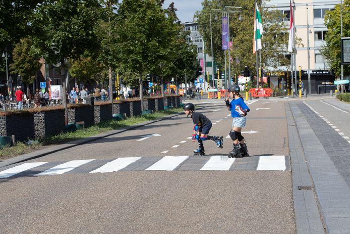 autoloze zondag in Hasselt