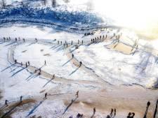 Rondje schaatsen bij vennen eindigt 30 keer met boete: geparkeerde auto's hinderen hulpverleners