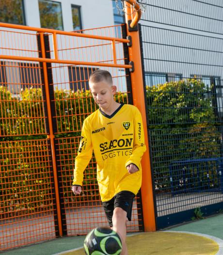 G-voetbal heeft vanaf dit weekend een eredivisie: Bossche Bram (13) voetbalt straks mooi tegen Ajax