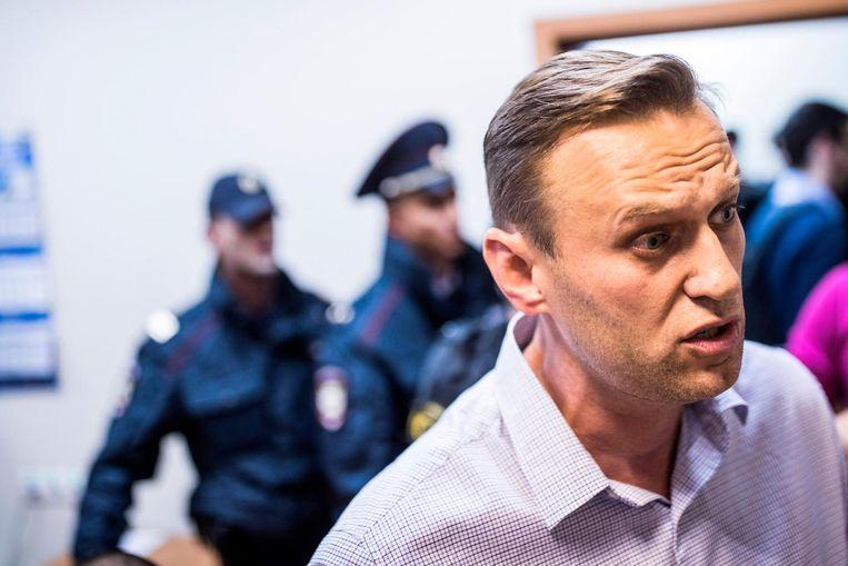 Oppositieleider Aleksej Navalni.