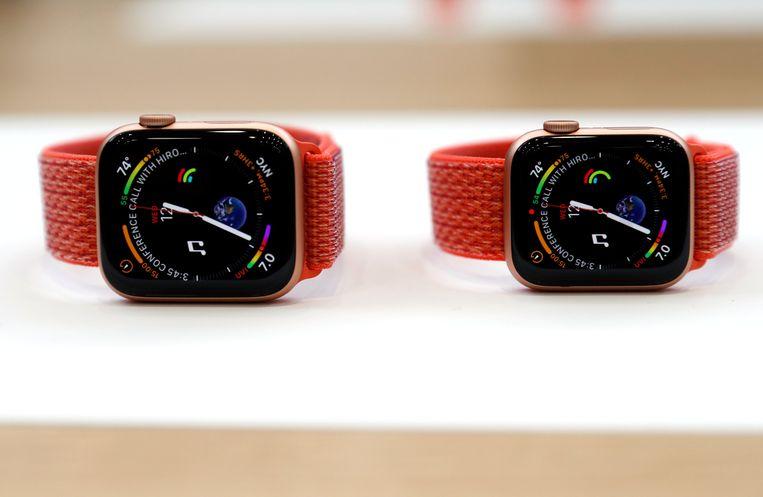 De Apple Watch Series 4. Beeld REUTERS