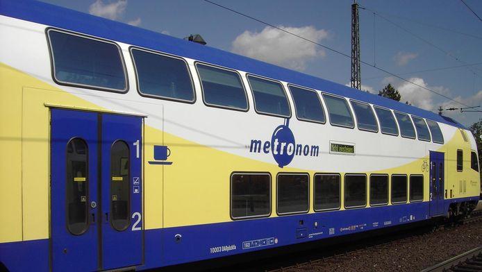 Een Duitse regionale trein