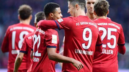 Gnabry bezorgt Bayern met twee goals nipte zege tegen ex-club