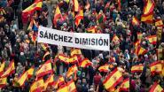 Tienduizenden demonstranten in Madrid tegen regering en voor nieuwe verkiezingen
