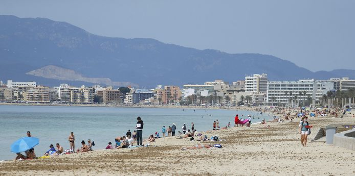 Playa de Palma.