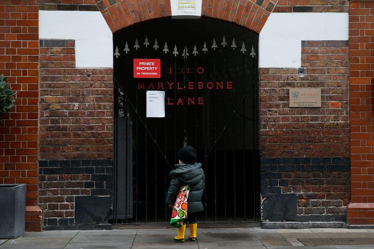 De scholen in het Verenigd Koninkrijk gaan open, maar niet overal.  Beeld Getty Images