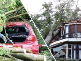 Storm richt megaschade aan in Leersum