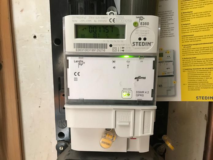 Een slimme elektriciteitsmeter van netbeheerder Stedin