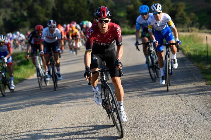 Vainqueur en 2014 et en 2017, Michal Kwiatkowski sera l'un des favoris au départ des Strade Bianche, samedi.