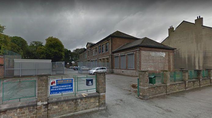 École du Centre à la rue Aurélien Thibaut à Marcinelle (Charleroi)