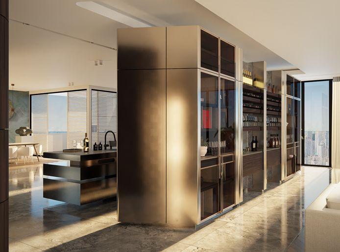 De duurste keuken ter wereld is vanaf deze week te koop via de site van het Helmondse Hoog Design.