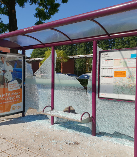 Meerdere bushokjes vernield in Kaatsheuvel