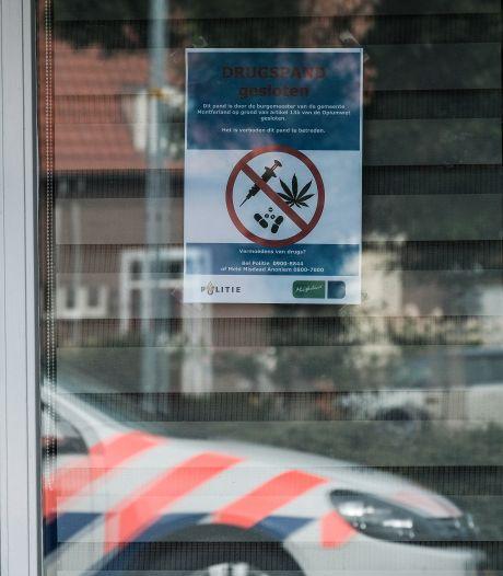 Kolff gelooft 'smoezen' na sluiting drugspanden niet en houdt vol: woningen moeten dichtblijven