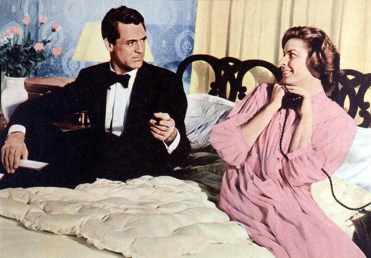 Gary Grant en  Ingrid Bergman in Indiscreet, 1958. Beeld FilmPublicityArchive/United Arch