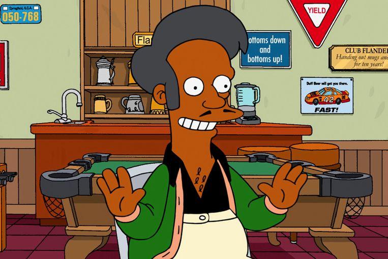 Apu is bekend – of berucht – om zijn riedeltje 'Thank you, come again.' Beeld RV