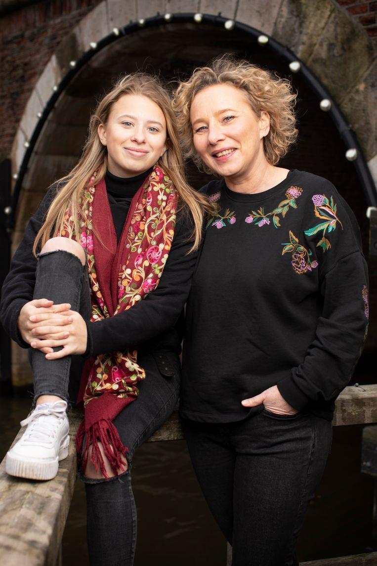Mika en Belinda. Beeld Harmen De Jong
