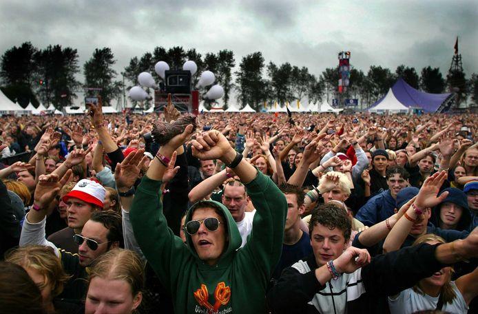 Het enthousiaste publiek tijdens een eerdere editie van Lowlands.