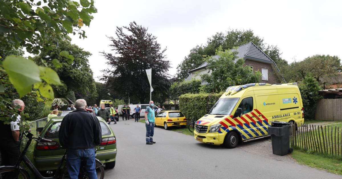 Meisje aangereden door auto bij camping de Meulebarg in Elspeet.