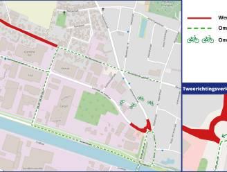 Rioleringswerken aan rotonde centrumbrug starten maandag
