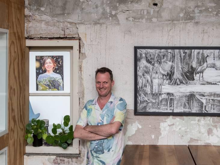 Jesse biedt jonge kunstenaars een podium in De Gelderlandfabriek: 'Ze krijgen hier een solo-expositie'