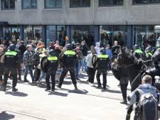 Tachtig anti-lockdownactivisten aangehouden bij demonstratie in Den Haag