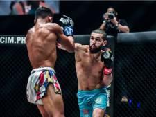 Ilias Ennahachi behoudt ONE-wereldtitel kickboksen in Singapore