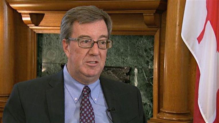 Jim Watson, de burgemeester van de Canadese stad Ottawa.