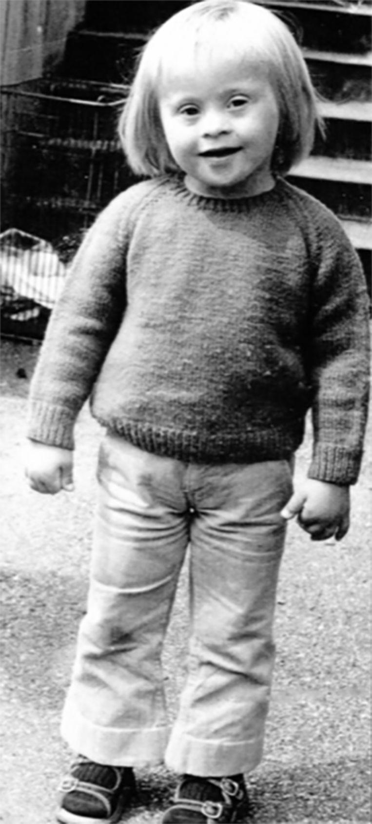 Aat Nederlof als kind Beeld Privéfoto