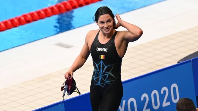 """Fanny Lecluyse eerste Belgische vrouw in olympische zwemfinale sinds Brigitte Becue: """"Cadeau voor mijn carrière"""""""