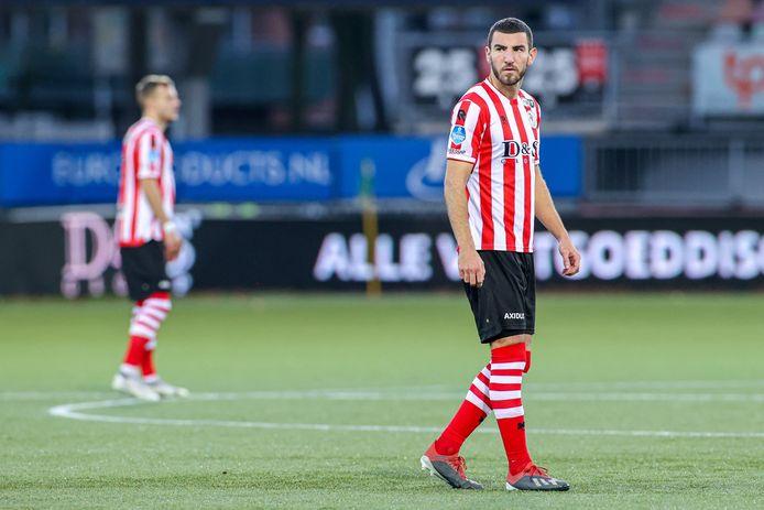 Michaël Heylen ontpopte zich meteen tot sterkhouder bij Sparta Rotterdam centraal in de defensie.