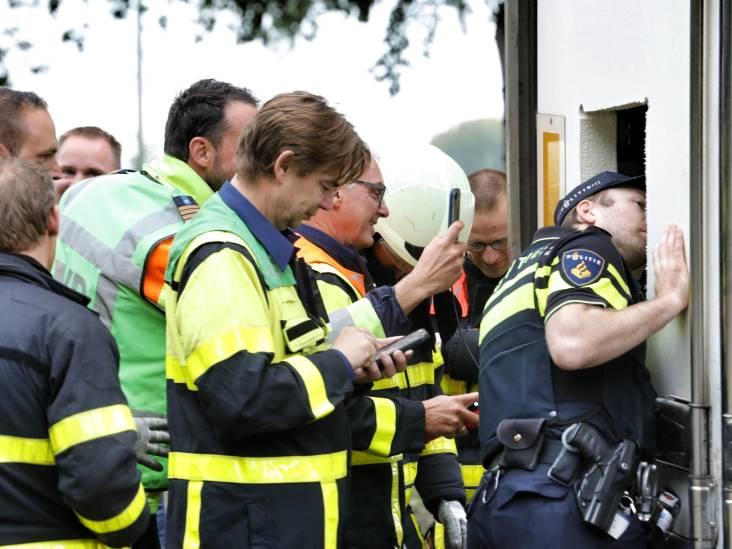 Trailer met vermoedelijk drugsafval op A17 in Klundert blijkt vol te zitten met oud ijzer