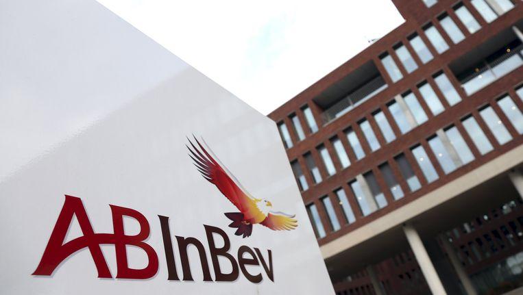 Het AB InBev-hoofdkwartier in Leuven Beeld REUTERS