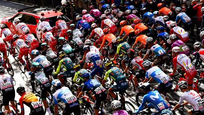 Giro past route 19de etappe aan en mijdt plek van kabelbaandrama