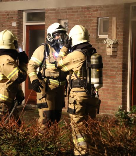 Veel rookontwikkeling door keukenbrand in Oss
