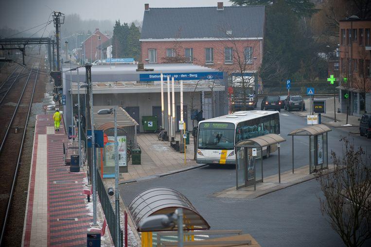 Het station van Heist-op-den-Berg