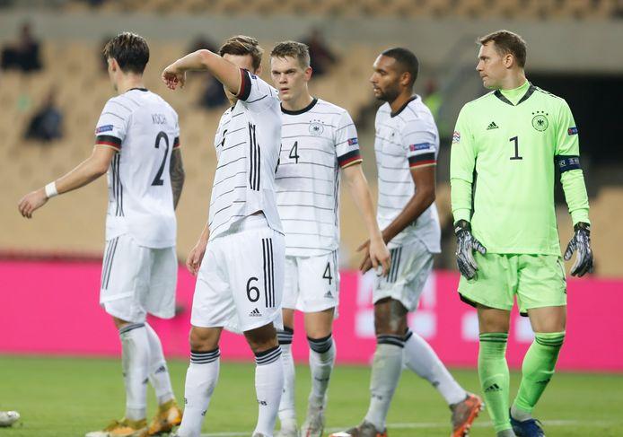 Het Duitse nationale elftal.